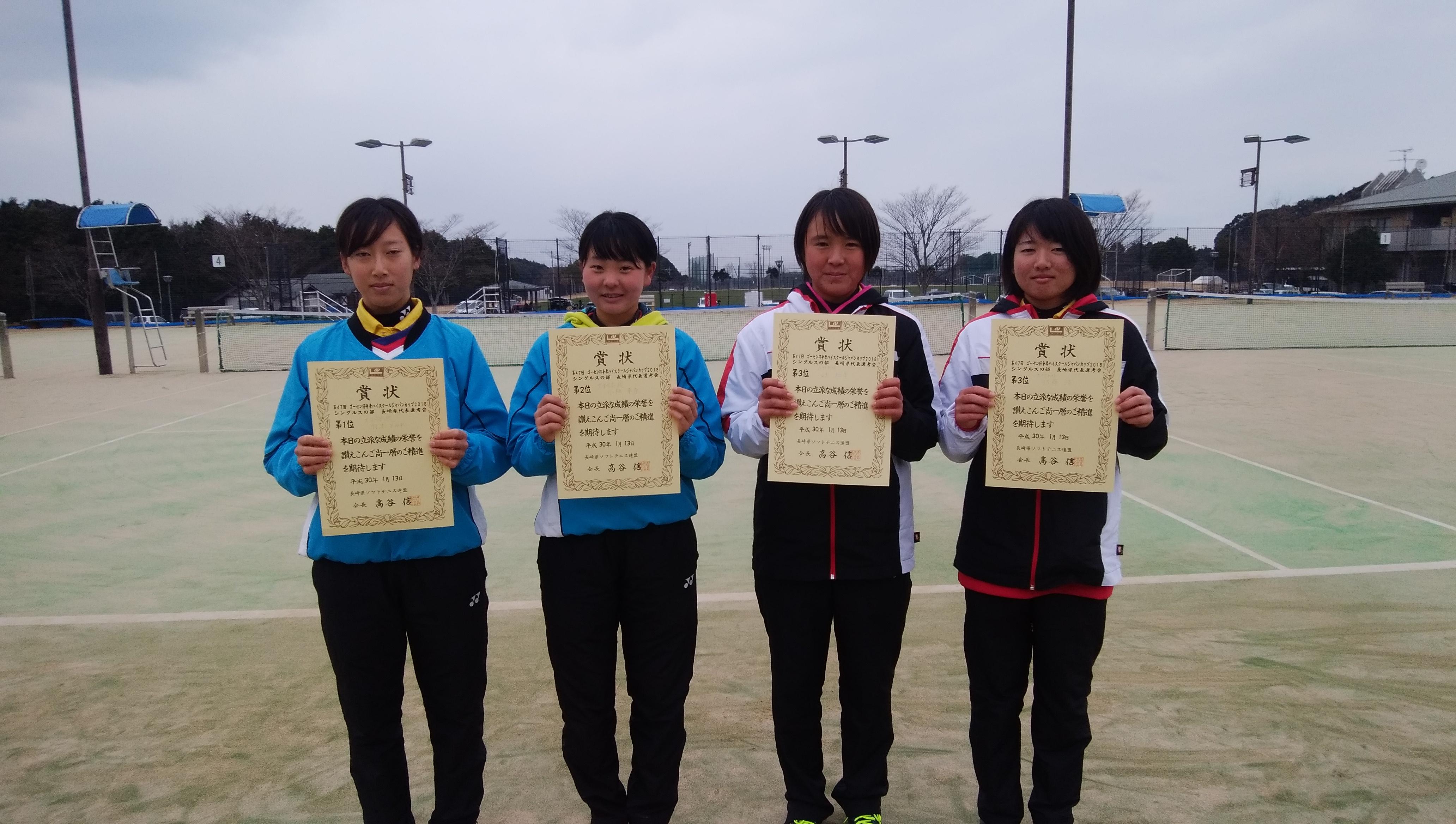 県 ソフトテニス 高校 長崎 5 部活動: