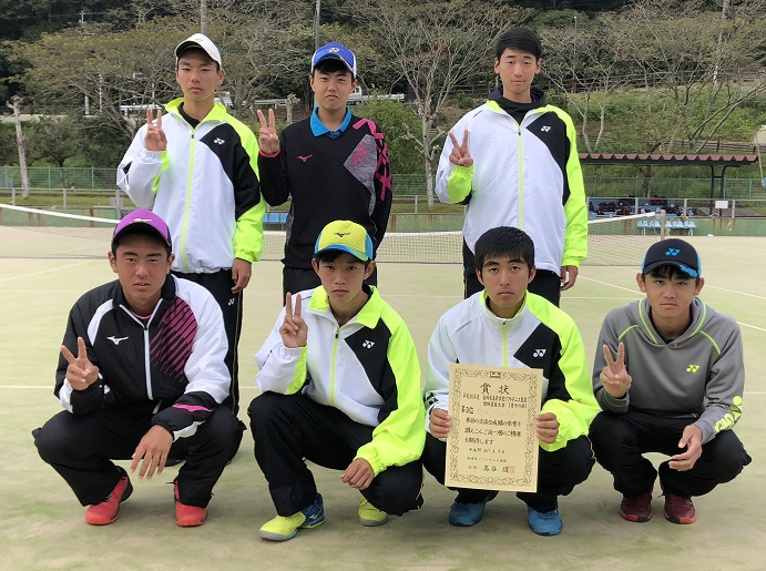 県 ソフトテニス 高校 長崎 過去の記録